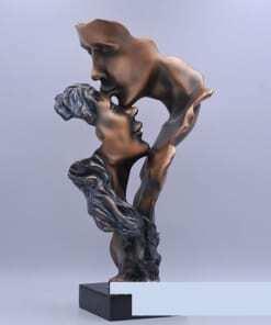 tượng trao nhau nụ hôn